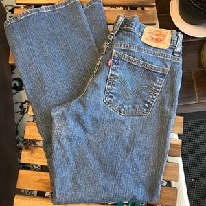 Levi's relaxed bootcut